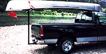 Extend A Truck Hitch Mounted Cargo Carriers For Pickup