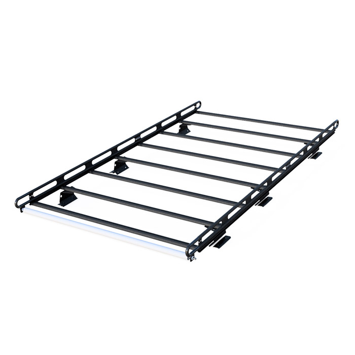 cross quot dp black ladder rack bars aluminum vantech racks dodge rambox