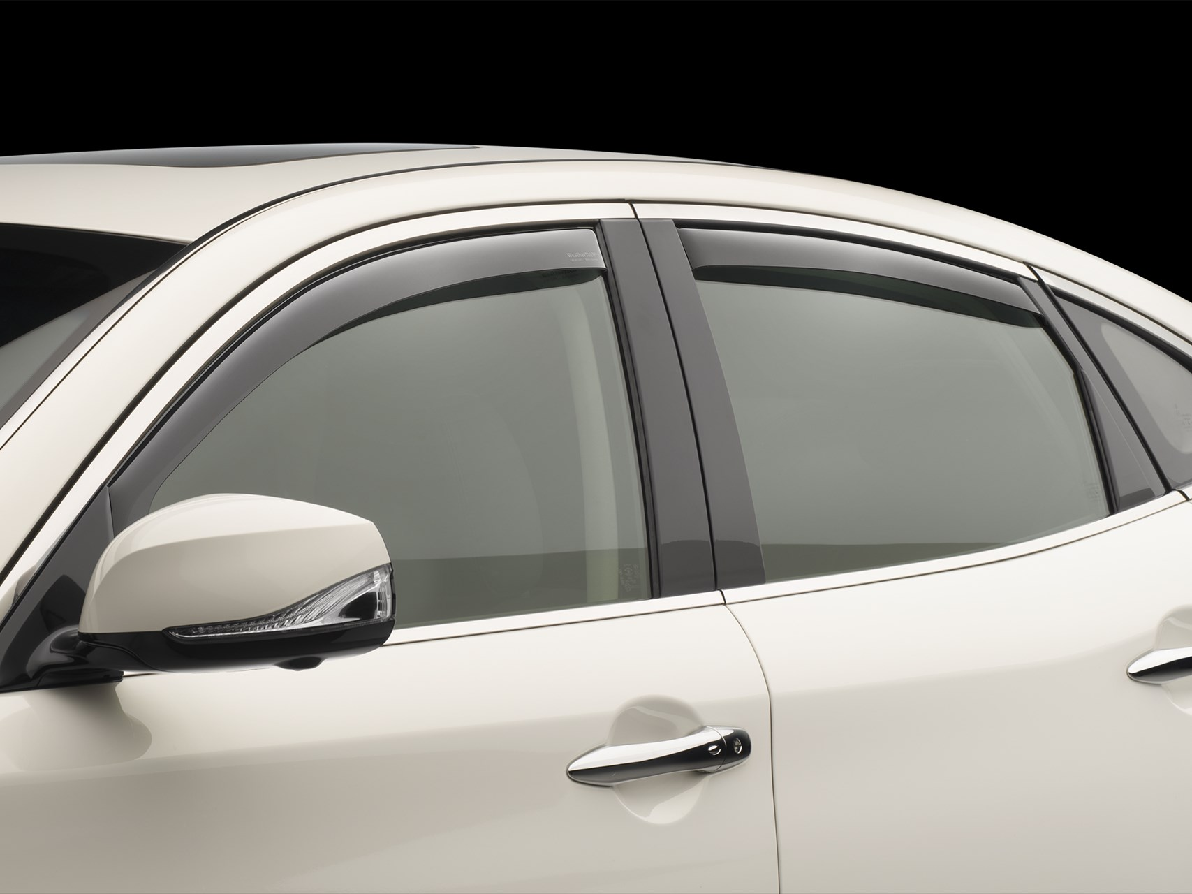 weathertech side window deflectors  rain guards