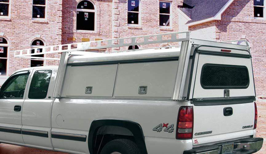 System One Aluminum Truck Ladder Racks