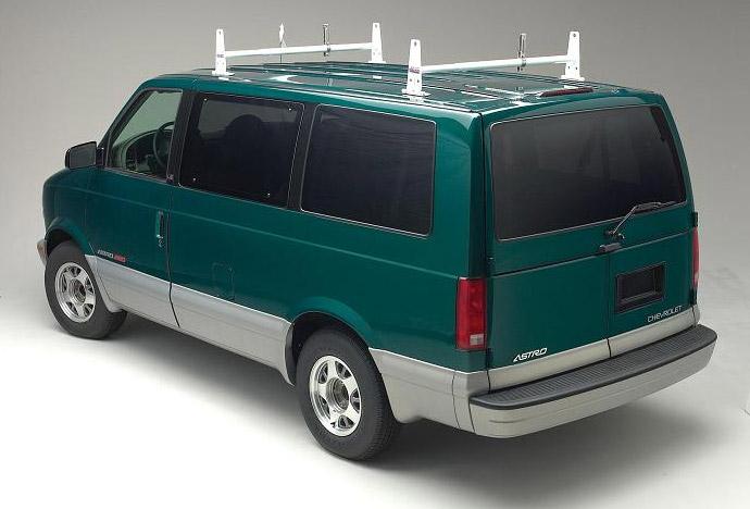 Vanguard Heavy Duty Steel Van Racks