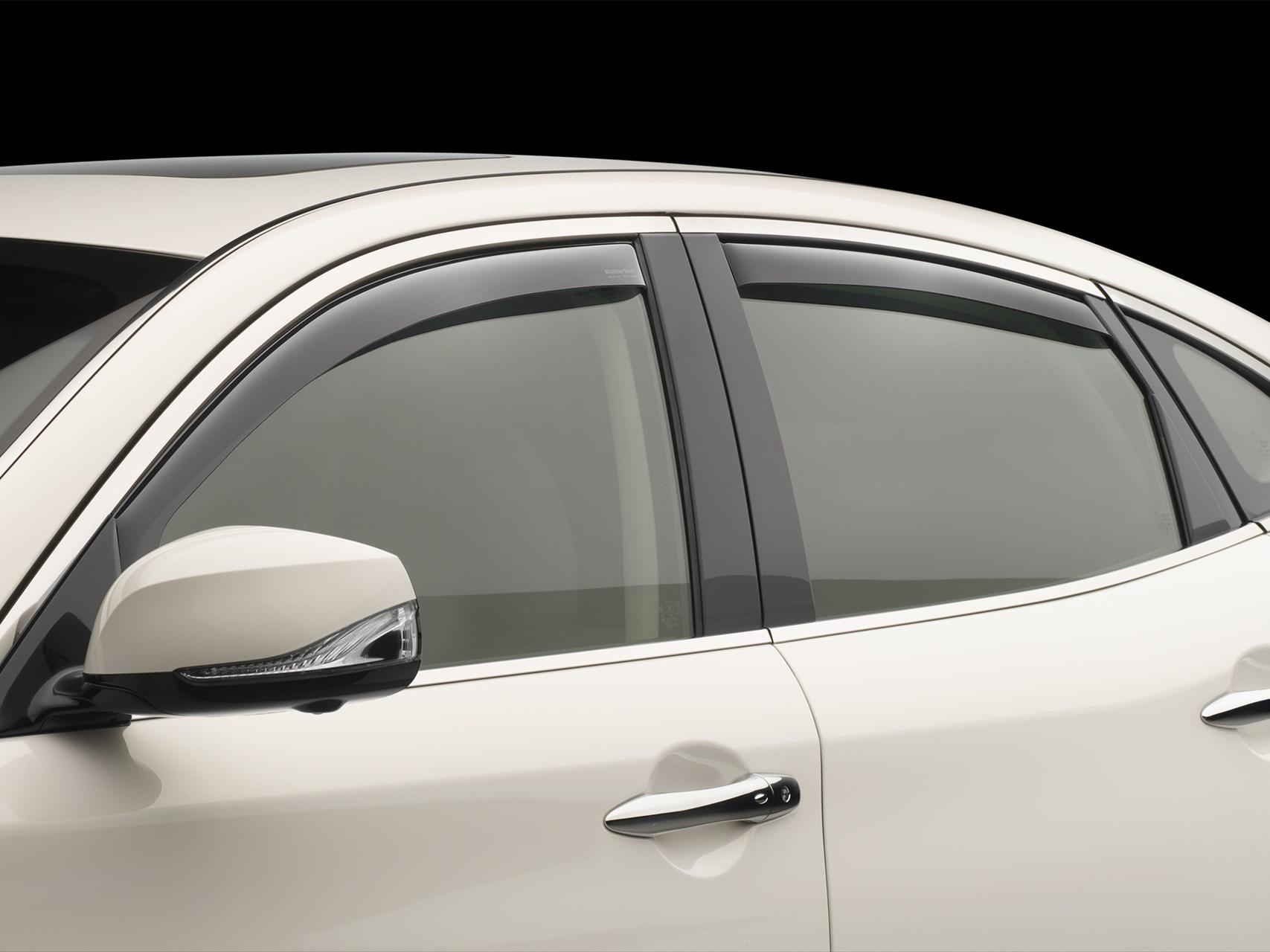 Weathertech Side Window Deflectors >> WeatherTech Side Window Deflectors, Rain Guards